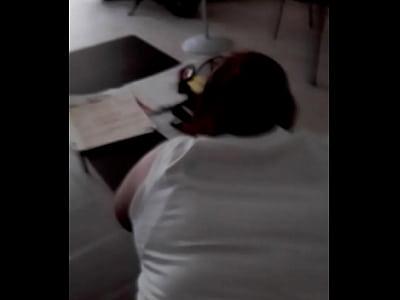 culiando en la oficina cancun