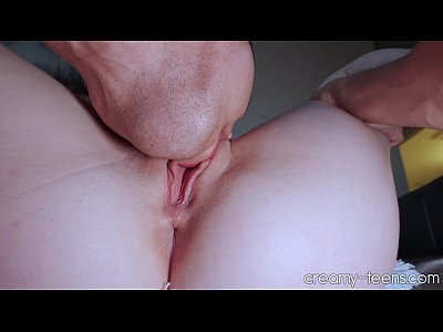 Licking her 18 year old pussy