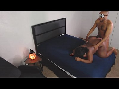Ebony BBW Sense Deprivation   Cumming at Her Command