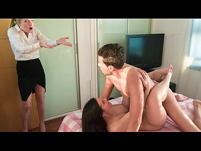 LOS CONSOLADORES - Busty Spanish babe Nekane caught fucking a guy