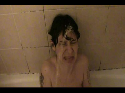 pissing on her face