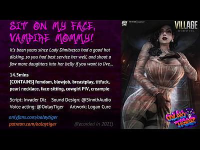 Lady Dimitrescu - Sit on my face, Vampire Mommy...