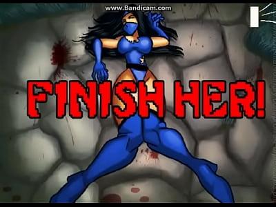 Finish her