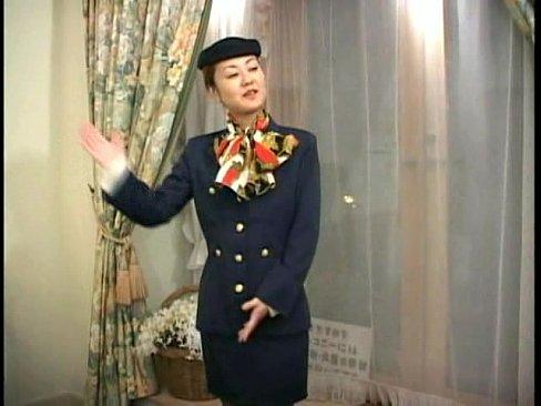 uniform stewardess hostess pink porn sex love