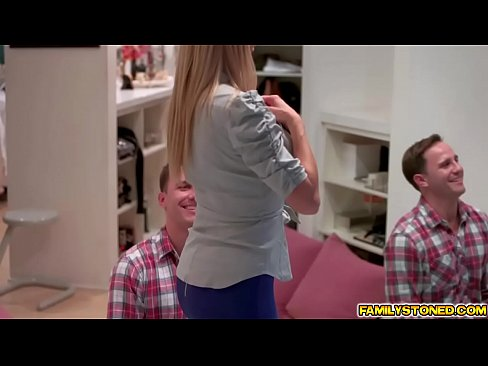 Brad needs step mommy fix for the day blowjobXXX Sex Videos 3gp