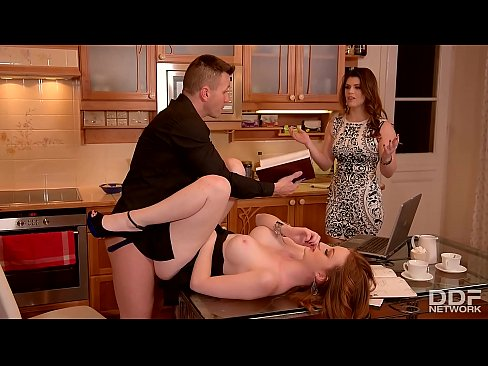 Lucia Love & Zara DuRose Fucking Awesome Kitchen Threesome