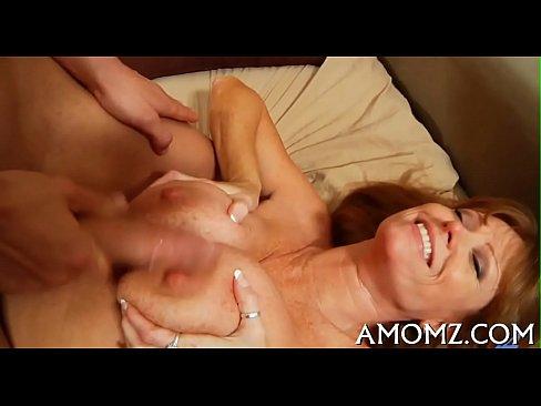 Mom yearns for avid fucking's Thumb