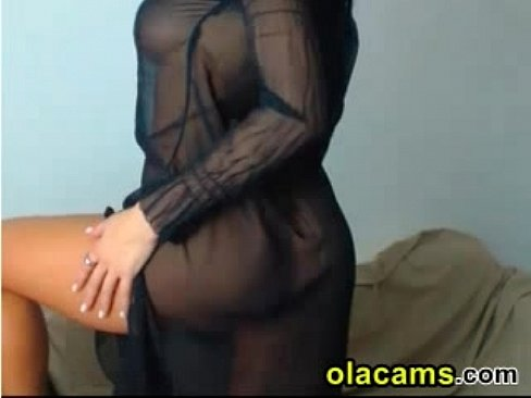 Sexy raven haired teases body on webcam xnxx indian porn videos
