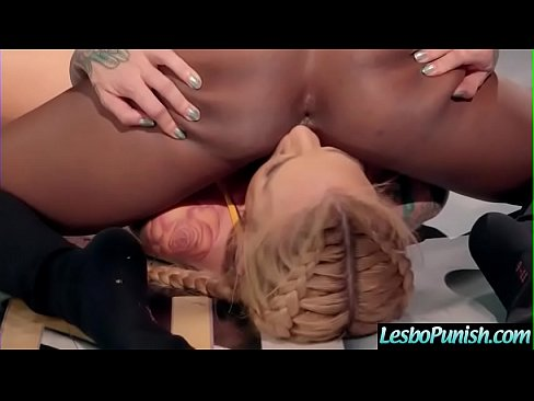 (Jezabel Vessir &amp_ Sarah Jessie) Lesbos Girls Play Using Toys On Cam In Punish Scene Clip-14's Thumb