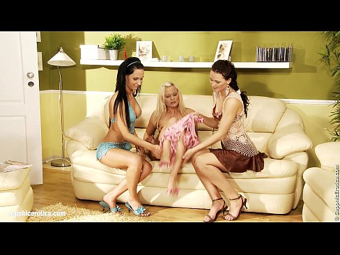 Torrid Threesome By Sapphic Erotica – Lesbian Love Porn With Andy – Katy