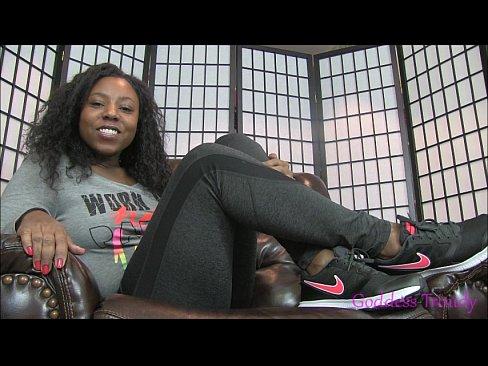 Ebony foot fetish videos