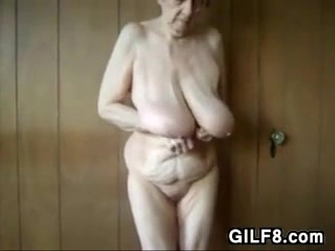 Granny saggy breasts