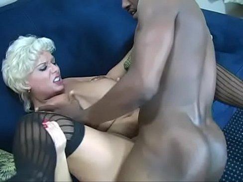 Big Saggy Tit Claudia Marie Servicing Black Cock