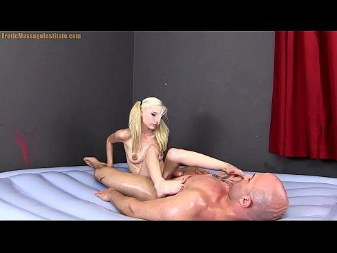 Piper Perri Gives Erotic Sensual Oil Massage   Sex and Blowjob