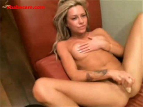 Naked wife legs spread