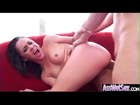 (Kristina Rose) Wet Big Ass Oiled Girl Love Anal Hardcore Sex clip-19's Thumb
