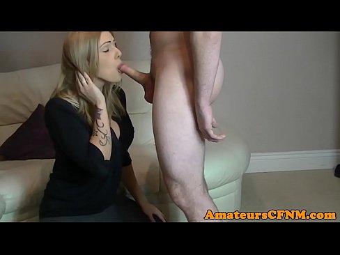 Amateur cfnm babe cocksucking in sexgames