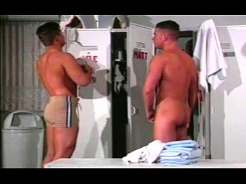 Gay football locker room porn