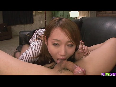 Cute and pretty babe giving a rough blow job and fucked