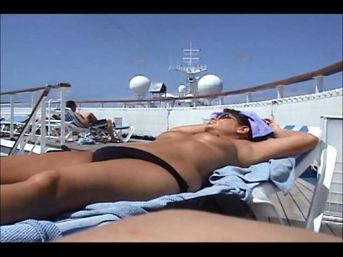 Cruise ship nude