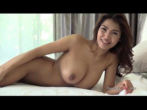 Big tit thai creampie