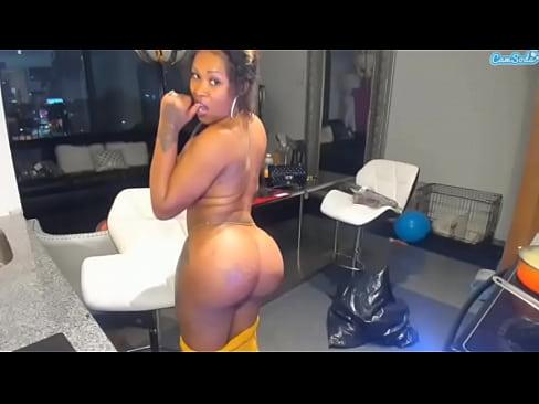 Big Ass Riding Dildo Ebony