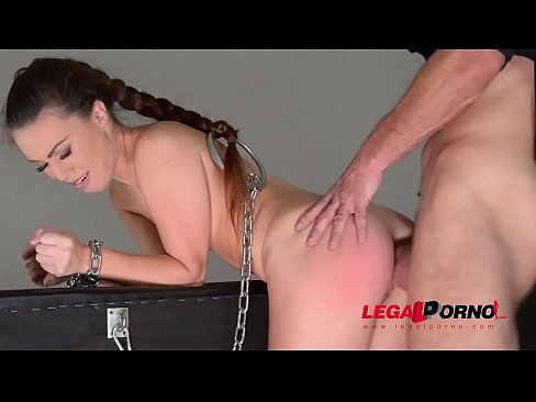 Submissive Hottie Tiffany Doll Dominated To The Xtreme Until Asshole Gapes GP528