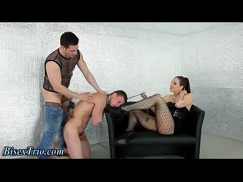 Bisex fetish hunk fucked