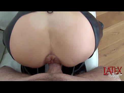 Latex angel butt cam