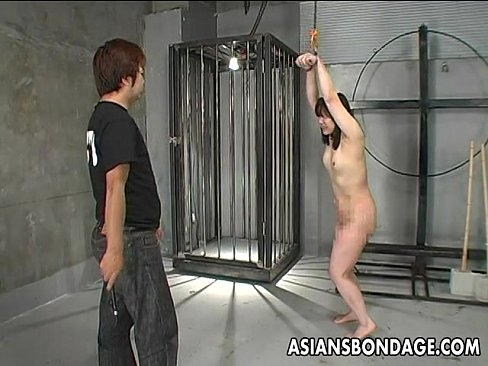 Asian girls stripped and whipped