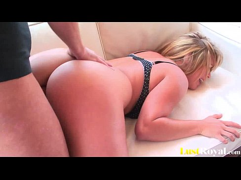 Hot blonde princess Alice Bell with a bouncy butt