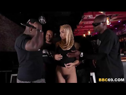 Arab Slut Aaliyah Hadid Enjoys Anal Gangbang