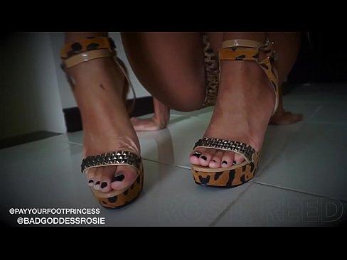 cover video Ebony Goddess F emdom Worship Rosie Reed osie Reed