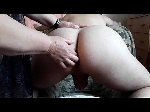 Femdom milf fucks the ass of a young guy
