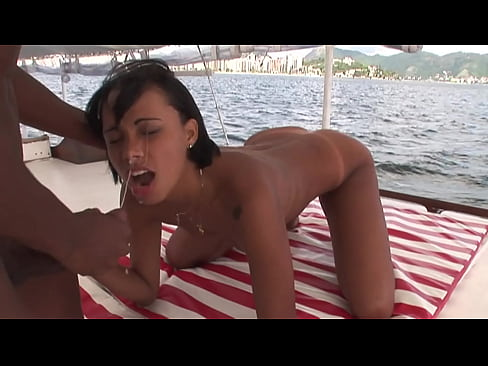 Boat trip with the cock in the ass
