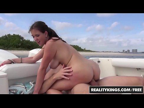Sexy white wife kissing black man