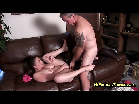 Daughter Plays Dads Cock