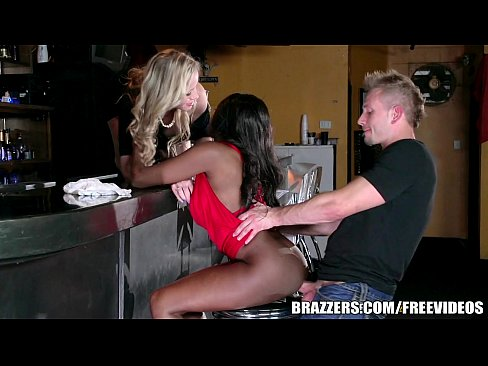 Brazzers – Ebony And Ivory, Anal Threesome