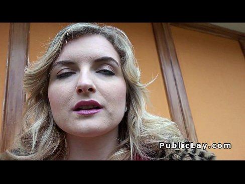 Canadian blonde flashing big tits - XVIDEOS COM