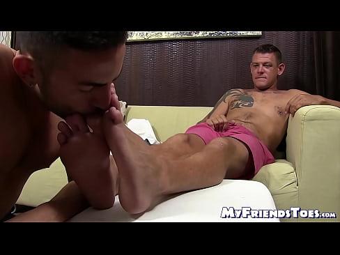 Foot Stroking Dick