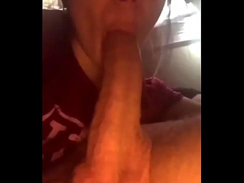 amateur blowjob recording herself
