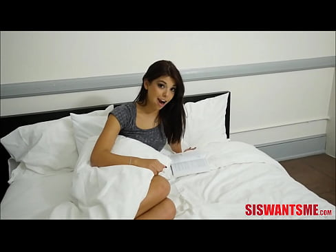 Step Sister Gina Valentina Helping Her Brother With Viagra Dick