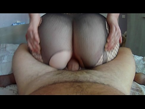 First anal for this pretty girl in sexy lingerie, he destroys her big ass but she has enjoy orgasm