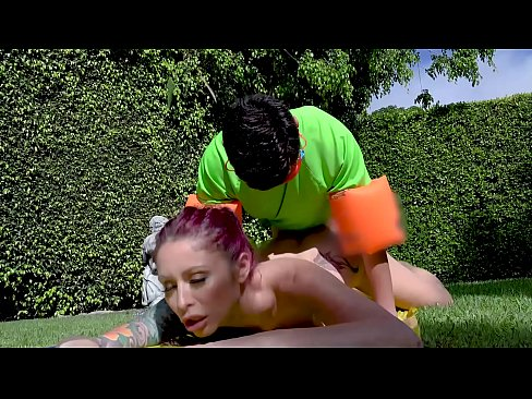 bangbros - juan el caballo loco slips & slides into monique alexander