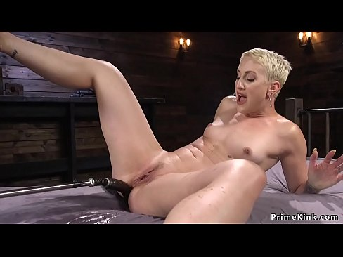 Short Hair Blonde Anal Hd
