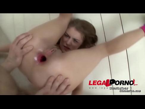 Amateur slut Alis gets her asshole pounded like never before