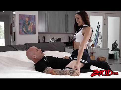 Schoolgirl Avi Love assfucked passionately by her hunk tutor – 12 min