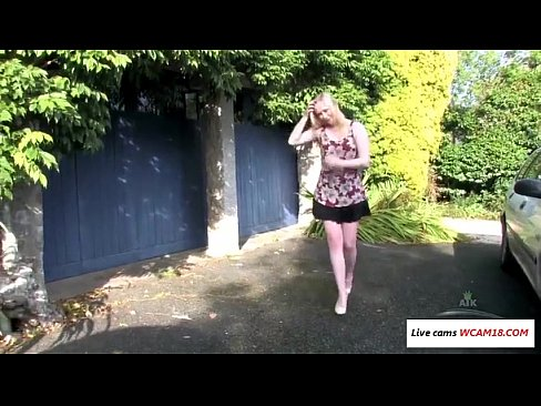 park in Amateur upskirts the