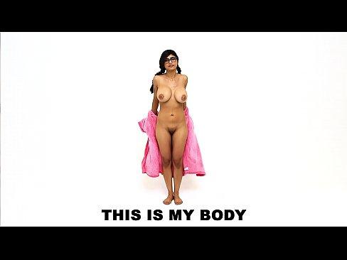 Mia Khalifa's Sexy Arab Body: A Compilation Video