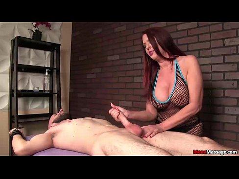 Hot milf dominant  handjob session